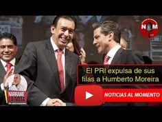 El PRI expulsa de sus filas a Humberto Moreira 🔴  | Noticias al Momento