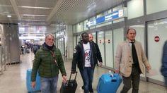 Doumbia og Gervinho er ankommet i Rom!