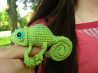 Here's the pattern for the chameleon -- $4.00.