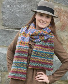 """Cathedral"" project book from Classic Elite Yarns"