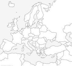 Blanco kaart Nederland provincies met hoofdsteden