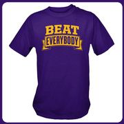 Purple Beat Everybody T-Shirt