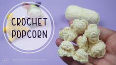 Palomitas de Maiz a ganchillo | Crochet PopCorn | Parecen Reales! - YouTube Popcorn, Cereal, Adulting, Breakfast, Food, Youtube, Amigurumi, Weaving, Morning Coffee