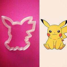 Cortador de biscoito Pikachu 5cm