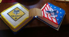 30 sweet Cub Scout, Boy Scout and Eagle Scout cake designs