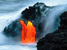 Volcano river - http://www.gbwallpapers.com/volcano-river/ (nature, Volcano / Nature)