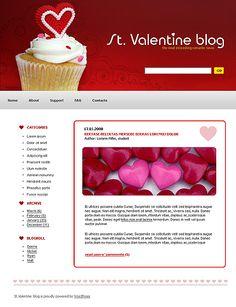 St. Valentine WordPress Themes by Di