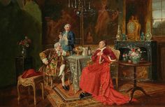 Bernard Louis Borione (1865-1920) — The Cardinal's Guests (1259x1819)
