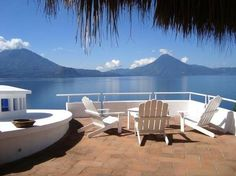Luxury with Volcano & Lake Views! in Panajachel Mediterranean Architecture, Unique Architecture, Ecuador, Vacation Rental Sites, Dream Vacations, Minimalist Interior, Central America, Perfect Place, Places Ive Been
