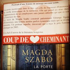 La porte de Magda Szabó @editionsvivianehamy @livredepoche Coup de coeur @libcheminant Vannes #lespetitsmotsdeslibraires #libraires #coupdecoeurlitteraire