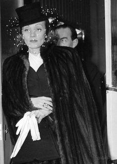 Marlene Dietrich and Erich Maria Remarque, 1940