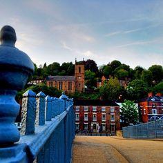 https://flic.kr/p/tkzwzy | Look at Iron Bridge town from the Iron Bridge  :) #upsticksandgo #ironbridge #travel #tourist #unitedkingdom #englishheritage #ironbridgetown #history #michfrost