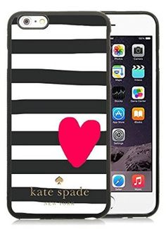 Most Popular Custom Iphone 6 Case Kate Spade New York Silicone TPU Phone Case for Iphone 6 Cover Case 219 Black