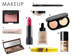lots of great beauty tips and professional's favorite products, like I need an excuse to try out new makeup!