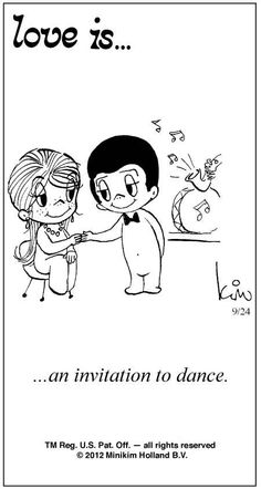 Love Is Cartoon 1970 | Love Is ... Comic Strip by Kim Casali (September 24, 2012)