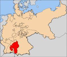 Regno di Württemberg - Königreich Württemberg - Localizzazione - Il Regno di Württemberg è stato un reame tedesco sorto a seguito dell'elevazione del Ducato di Württemberg a regno, avvenuta il 1º gennaio 1806, e dissoltosi in conseguenza dell'abdicazione del suo ultimo re, Guglielmo II di Württemberg (9 novembre 1918).