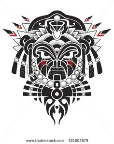 Afrika Masken Stock-Vektorgrafiken & Clip Art-Vektorgrafiken | Shutterstock