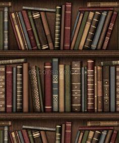 Fine Decor Distinctive Bookcase Wallpaper FD40545  - Library Study Book Shelf | eBay
