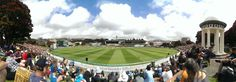 The famous Basin Reserve- the biggest roundabout in the southern hemisphere.