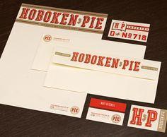 Hoboken Pie branding by Decoder Ring in Austin.