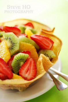 bowl of fruits...