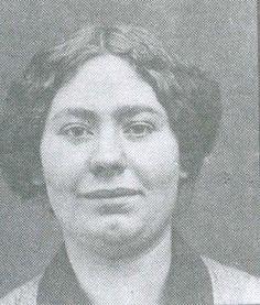 La compagne d'Octave Garnier, Marie Vuillemin.