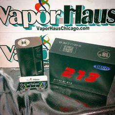 A Welcomed Addition to our store! Sigelei 213 TC ! This light weight dual 18650 213 watts Mod is Pure Sigelei Power! #vaporhaus #sigelei #sigelei_co.ltd #vape #vapelyfe #vapelikeaboss #chicagovapers #VaporHaus_Chicago #boxmod #213 #vapeporn #vapepics #vapestagram #vapor #vapeshop #supportlocalbusiness