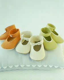 There's no better way to cover a baby's precious toes than with a pair of soft, snug hand-sewn booties.