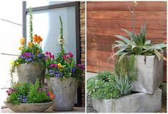 Gartendeko aus Beton selber machen - 28 schöne Ideen
