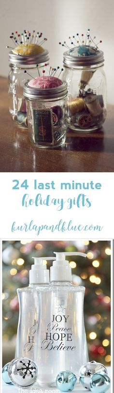 last minute christmas gifts to make!