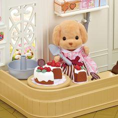 Set Mam� Caniche decorar pasteles - Sylvanian Families