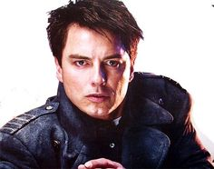 Captain Jack Harkness looking fine!   I miss Torchwood!