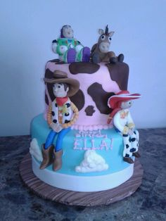 Toy Story cake for a little girl