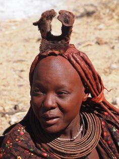 Himba woman . Namibia