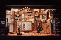 The Comedy of Errors (The City) Scenic design by Carey Wong.