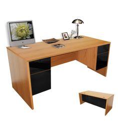 Alexis Double Pedestal Executive Desk