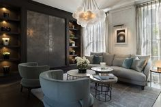 Staffan Tollgard Design Group | Knightsbridge Residence 1