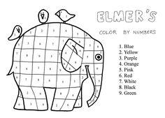 43 Beste Afbeeldingen Van Elmer Olifanten Preschool Elephant