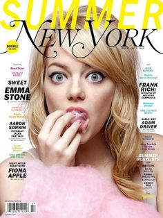 Emma Stone on the cover of New York magazine talking about the notorious Jim Carrey video, her personality quirks and her attitude.Emma Stone is on the wav Blonde Balayage, Blonde Highlights, Emma Stone News, Pretty People, Beautiful People, Beautiful Ladies, Beautiful Pictures, Close Up, Flavio