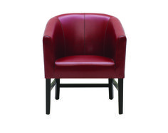 Canyon Armchair - Oxblood Leather Pg. by Sunpan Furniture