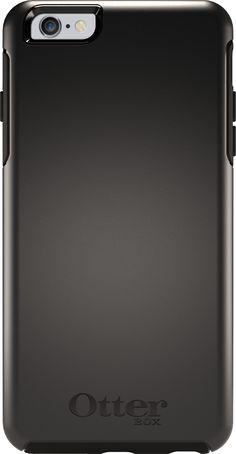 Funda para iPhone 6 Plus OtterBox Symmetry Trasera de Alta Protección Negra