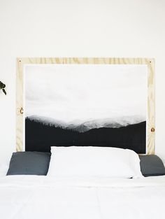 Mountain Plywood Print by The Merrythought via upknorth