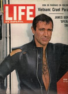Sean Connery as James Bond | James Bond Agente 007 Sean Connery Revista Life 1966 Bbf - $ 199.00 en ... Más