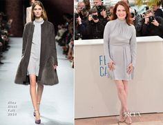 Julianne Moore In Nina Ricci – 'Maps To The Stars' Cannes Film Festival Photocall