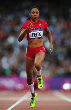 ~Allyson Felix~ ~London 2012~ ~Track~