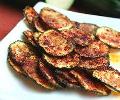 SPLENDID LOW-CARBING BY JENNIFER ELOFF: Zucchini Chips