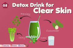 5 Best Detox Drinks for Clear Skin 2020 – Okey Bye Detox Water For Clear Skin, Detox To Lose Weight, Kiwi Juice, Avocado Face Mask, Best Detox, Moisturizer For Dry Skin, Skin Problems, Detox Drinks, Good Skin