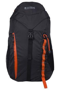 Mountain Warehouse 45 Litre Rucksack - Phoenix Extreme - Hiking Camping Travel Backpack Lightweight Charcoal: Amazon.co.uk: Clothing