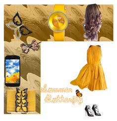 """""""Summer Butterfly"""" by michalka-1 on Polyvore featuring Nancy Gonzalez, Dolce&Gabbana, Target, Kulala and Crayo"""