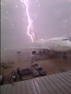 When #Lightning #Strikes Your #Airplane...  Watch this to learn :) Enjoy the video  http://goo.gl/ryQz52